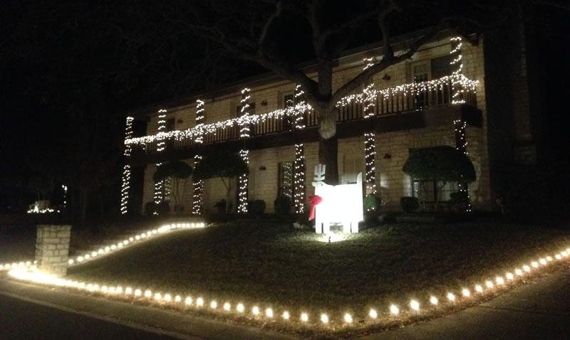 7 of wacofork s favorite christmas light displays in or near waco