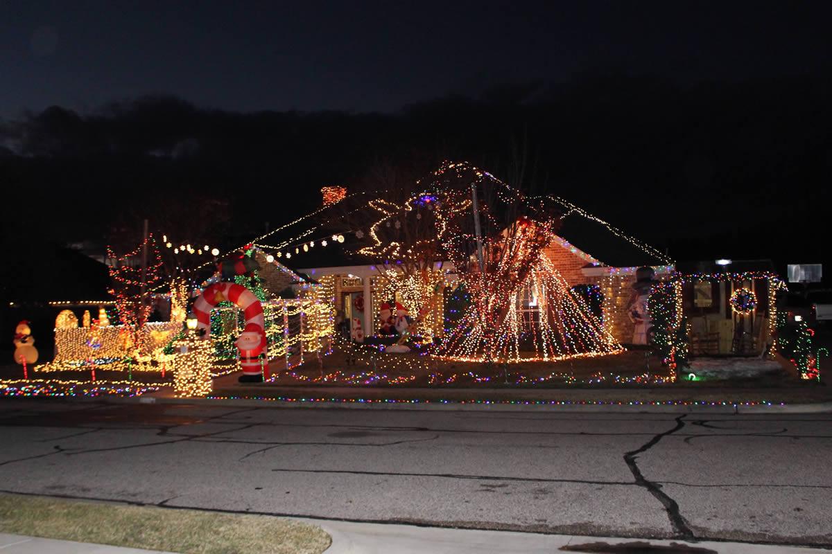wacofork tour of waco christmas lights 2015 wacofork waco texas