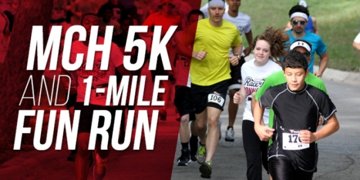 Put the MCH 5K/Fun Run on your weekend to-do list