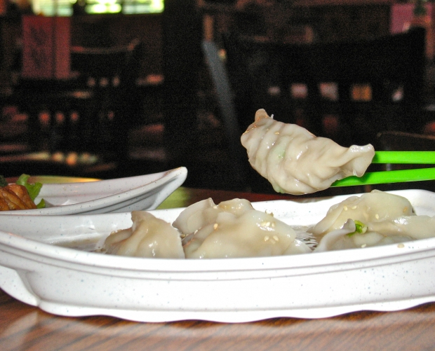 Off the wagon, on the Clay Pot dumpling boat