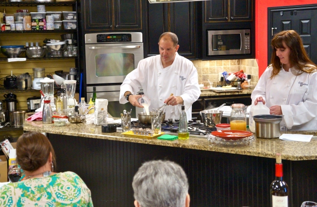 Gourmet Gallery classes fit foodie palate