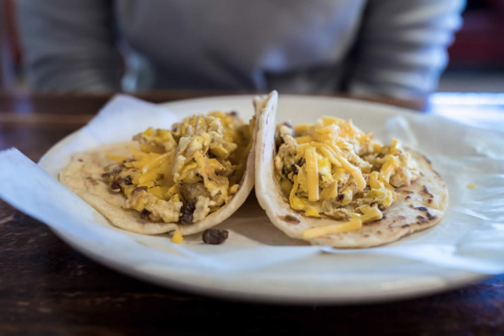 Waco's best breakfast tacos