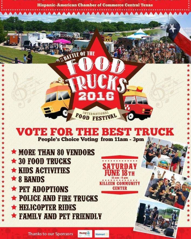 Hispanic-American Chamber of Commerce – Central Texas Hosts the 2nd Annual Battle of the Food Trucks