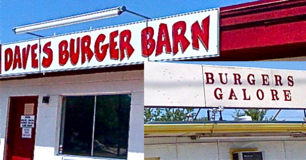 Dave's Burger Barn, Burgers Galore challenge competitive eaters
