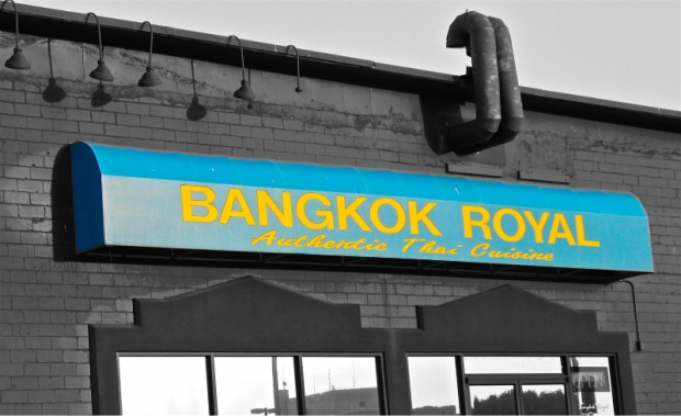 Riding home with Bangkok Royal in tow