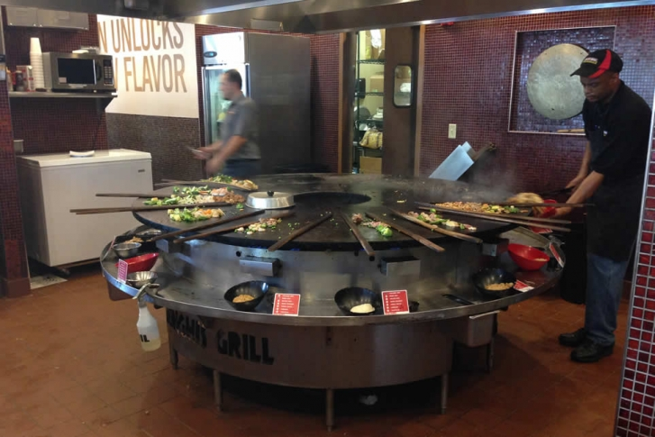 Genghis Grill brings build your own stir fry to Waco