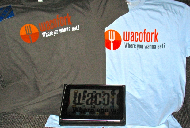 New WacoFork T-shirts have arrived; there's still an iPad2 up for grabs