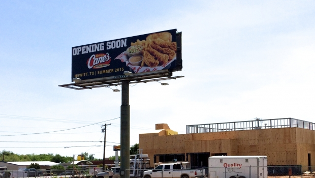 Raising Cane's opening second Waco location in Hewitt on June 25